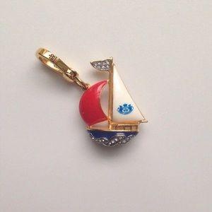 Juicy sailboat charm
